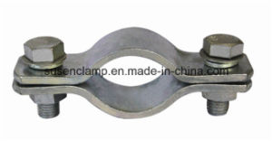 DIN3015 Steel Flat Pipe Clamp with Two Bolts pictures & photos