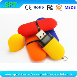 Stylish Oval Shape USB Flash Drives (ET605) pictures & photos