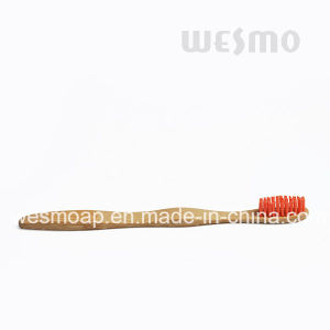 Blue and Purple Bristle Eco-Friendly Bamboo Children Toothbrush (WBB0871G) pictures & photos