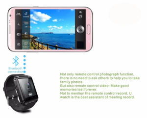 Touch Screen TFT LCD Rubber Sport Wirst Silicone Smart Watch pictures & photos
