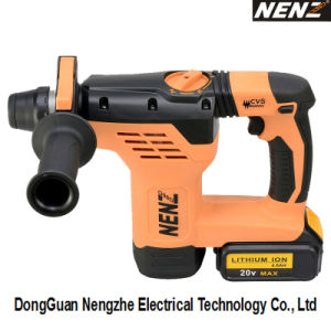 Li-ion Battery 600W Professional Cordless Rotary Hammer (NZ80) pictures & photos
