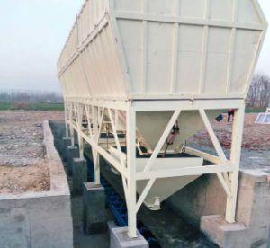 Hzs180 Large Storage Capacity Construction Machine/Concrete Batching Plant pictures & photos
