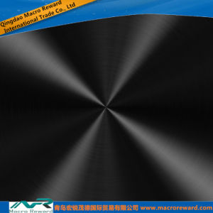 DIN 300 Series Black Color Brushed Stainless Steel Sheet pictures & photos