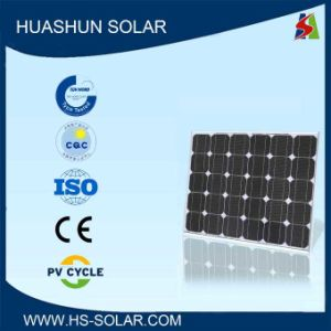 Huashun 70-80W 125X125 Mini Monocrystalline Solar Module (SH-80S5-10)