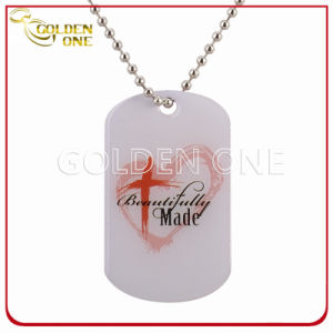 Personalized Design Printed Epoxy Coating Metal Dog Tag pictures & photos