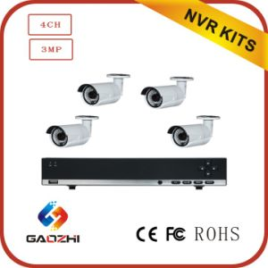 4channel 4MP NVR Kits CCTV System-Access IP Camera with Smart Phone pictures & photos