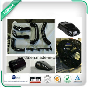 Hot Sale Satin Black Ral 9005 Hybrid Epoxy Polyester Paint Powder Coating pictures & photos