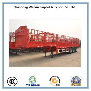 China Stake Fence Truck Trailer with Size 13m * 2.5m * 3.6m pictures & photos
