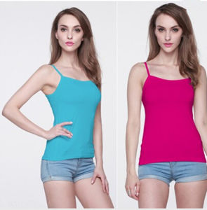 Summer Fashion Women in Multiple Colors Singlet Tops (MU6634) pictures & photos