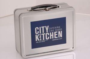 Stock Medium Retro Tin Lunch Box pictures & photos