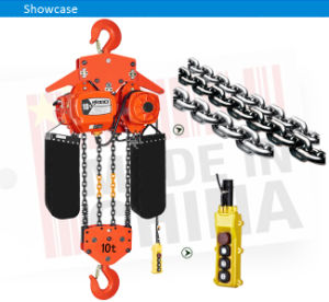 10 Ton Overload Protected Electric Hoist with Fec80 Chain pictures & photos