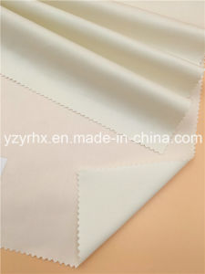 Finished Fabric Cotton / Polyester Fibre Twill Printed Cream White pictures & photos