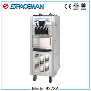 Automatic Control Double System Soft Ice Cream Maker pictures & photos