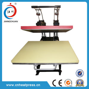Low Price 100*100cm Manual Auto Open Heat Transfer Machine T Shirt Heat Press