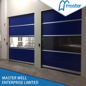 Customised Automatic High Speed PVC Door with Remote Control pictures & photos