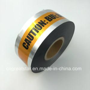 Aluminum Underground Detectable Warning Tape
