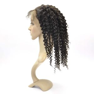 Brazilian Virign Hair Full Lace Wigs (14Inch-Kinky Straight) pictures & photos