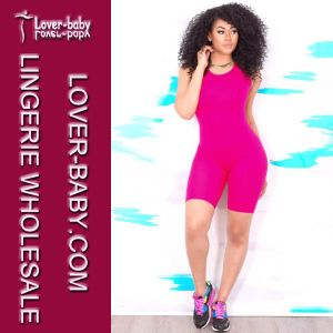 Sexy Onesie Women Bodycon Jumpsuit (L55203-3) pictures & photos