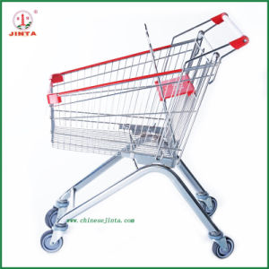Supermarket Shopping Trolley (JT-E08) pictures & photos