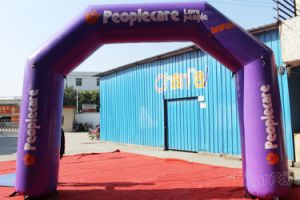 Cheap Inflatable Arch for Charity Chad810 pictures & photos