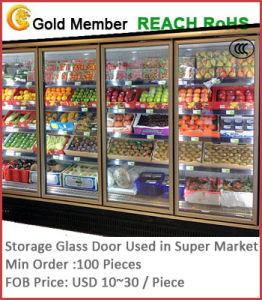Storage Glass Door Used in Super Market