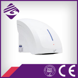 White Wall Mounted Small ABS Hotel Automatic Hand Dryer (JN70904C) pictures & photos