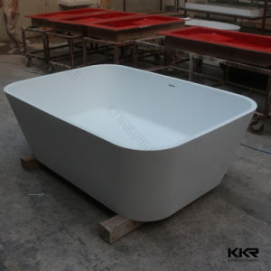 Bathroom Furniture Solid Surface Free Standing Bathtub pictures & photos