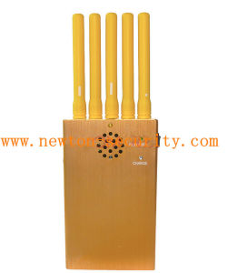 Portable Golden 3G Cellular Phone Signal Jammer WiFi GPS Jammer pictures & photos