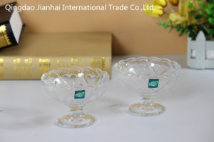 Clear Glass Milkshake Ice Cream Glass Cups pictures & photos