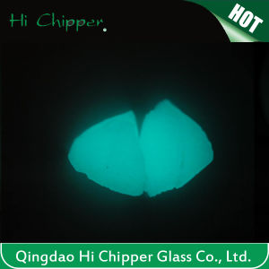 Garden Marking Greeen Colored Glow Glass Chips pictures & photos