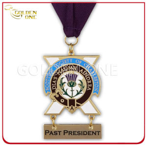 Custom Gold Plated Hard Enamel Medallion pictures & photos