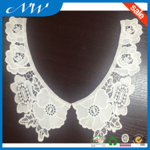 Hot Sale Milk Silk Lace Collar for Fashion Garments pictures & photos