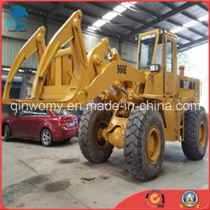 Available-Wood-Grapple Hydraulic-Transmission 20ton/160kw Used 2008-USA-Made Caterpillar 966e Motor Wheel Loader pictures & photos