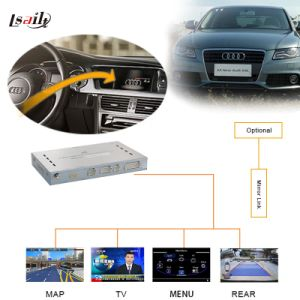 Car HD Upgrade GPS Video Interface Navigation Box for 09-14 Audi A4l/A5 pictures & photos