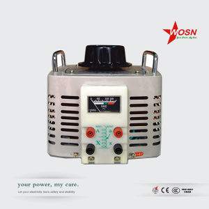 Wosn Tdgc2-15kVA 220V Single Phase Variable Voltage Regulator pictures & photos