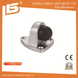 Height Zinc Alloy Floor Mounted Type Rubber Door Stopper pictures & photos