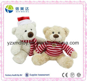 ASTM/En71 Approved Cute Christmas Stuffed Plush Teddy Bear pictures & photos