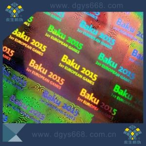 Hollow out Serial Numbers Hologram Sticker pictures & photos
