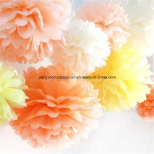 Wedding Decor Tissue Flower Hanging Paper Pompom