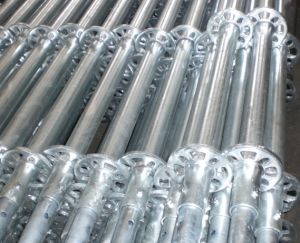 Hot DIP Galvanized Ringlock Scaffolding Standard/ Vertical with High Quality pictures & photos