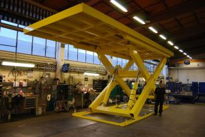 Stationary Scissors Lift Platform Fixed Lift Table (LZ-SJG)