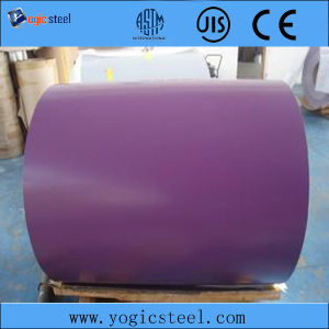 Violet PPGI Prepainted Galvanized Steel Coil for Roofing pictures & photos