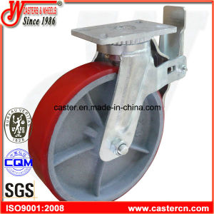 12 Inch Heavy Duty PU Scaffolding Caster pictures & photos