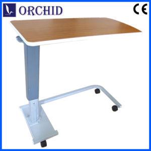 Bottom Hospital Beside Table with Castors (G-07)