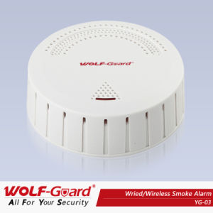 China Factory! Wireless/Wired Smoke Detector Yg-03 pictures & photos