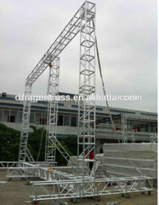 Outdoor Event LED Truss Display, LED Screen Truss for Sale pictures & photos