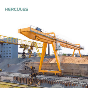 Heavy Duty Double Girder Industry Machinery Gantry Crane pictures & photos