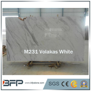 Elegant Imported Volakas White Natural Marble Slabs and Tiles pictures & photos
