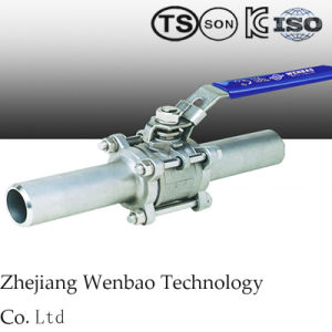 Yjzq High Pressure Hydrulic Ball Valve with Female Threaed pictures & photos