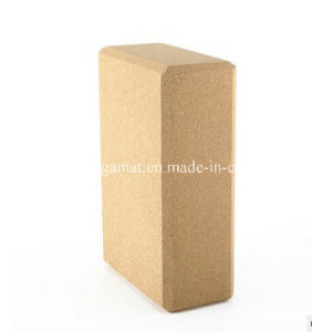 Eco-Friendly Soft Cork Yoga Block Yoga Brick pictures & photos